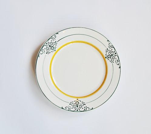 Десертная тарелка OF Cerâmica Vintage Green