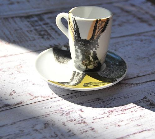 Чашка для эспрессо с блюдцем Duro Ceramics