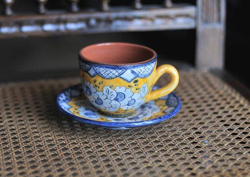 Кофейная чашка с блюдцем Olaria Pirraça