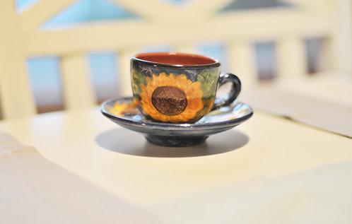 Чашка для эспрессо с блюдцем Olaria Pirraça
