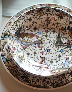 Суповая тарелка Estrela de Conímbriga XVII Colours