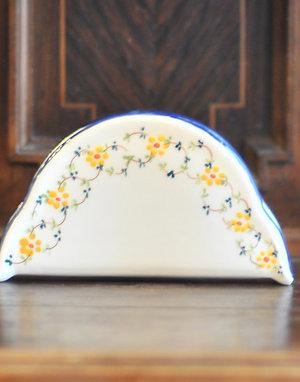 Салфетница OF Cerâmica Yellow Flowers