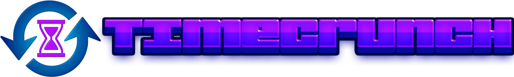 TimeCrunch Horizontal Logo with Text