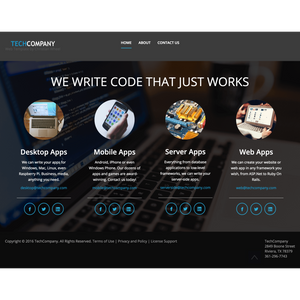 TechCompany HTML Template