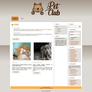 """Pet Club"" Template"