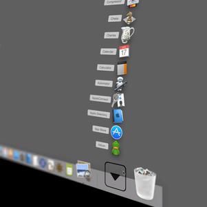 Dock Stack Scrolling