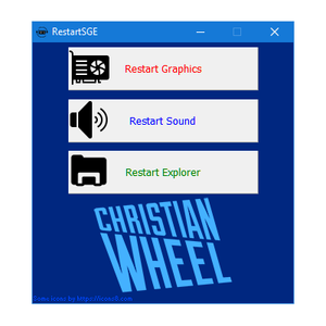 Restart Sound, Graphics & Explorer