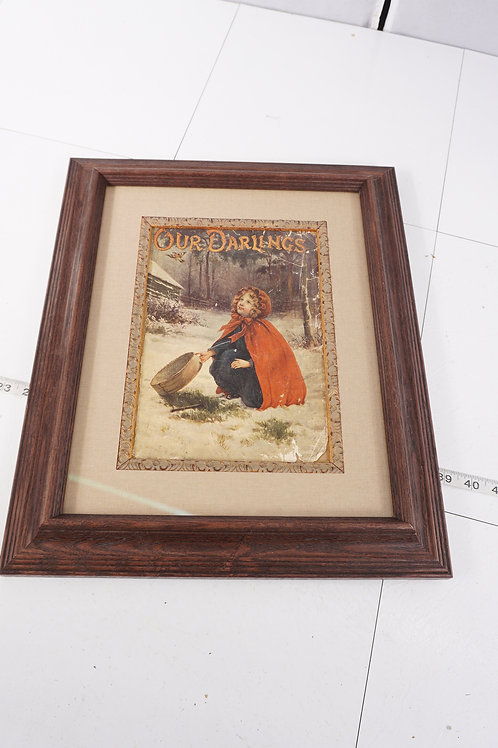 Our Darling Framed Print