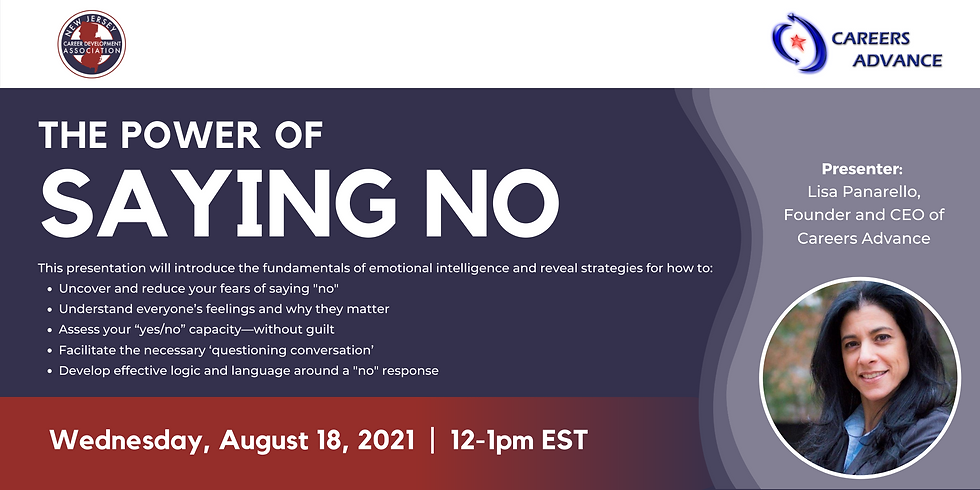 The Power of Saying No