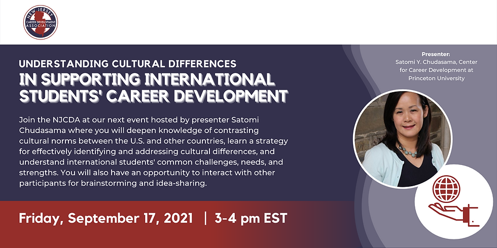 Understanding Cultural Differences in Supporting International Students' Career Development
