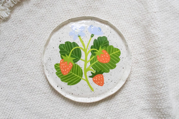 Wild Strawberries - Trinket dish