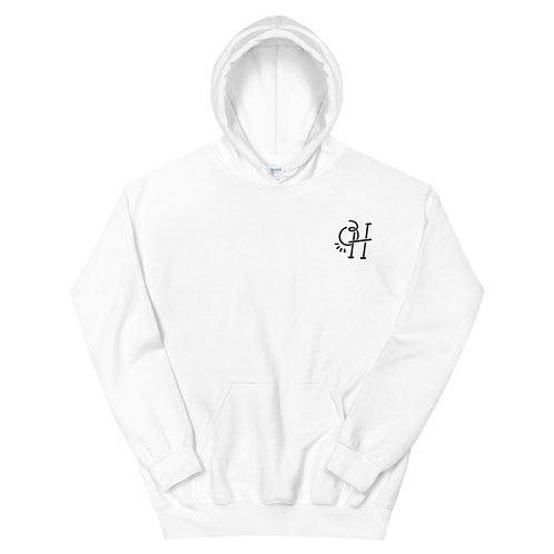 OH Logo Embroidered Hoodie