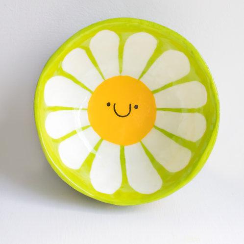 Smiley Daisy Small Decorative Bowl