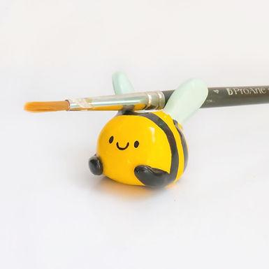 Busy Bee Paintbrush / Pen Holder
