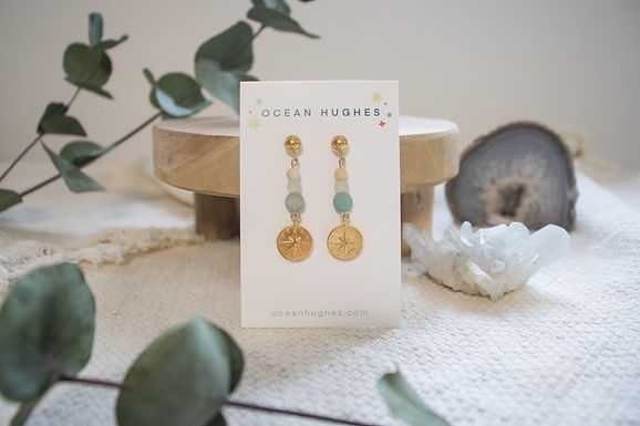 Amazonite - Atlas Dangle Earring