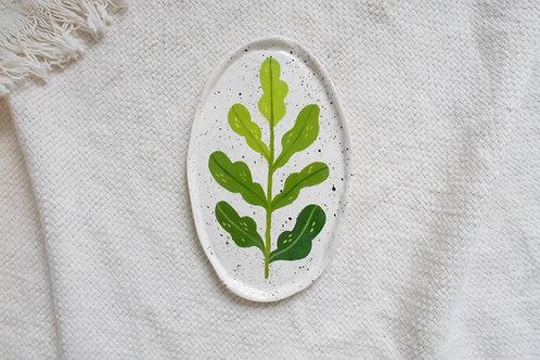 Leaf Vine - Oval Trinket Dish