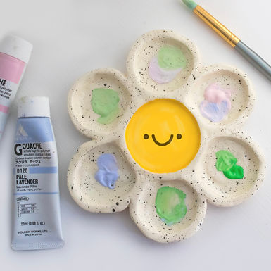 Flower Paint Palette