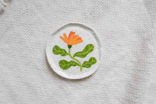 Orange Calendula - Mini Trinket Dish