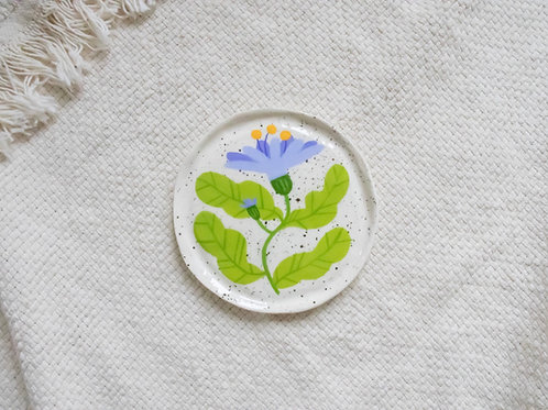 Blue Daisy - Mini Trinket Dish