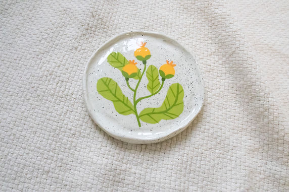 Golden Dewdrop - Mini Trinket Dish