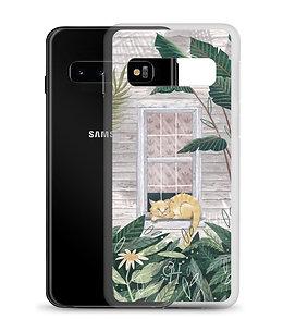 Tropical Cat Nap - Samsung Case