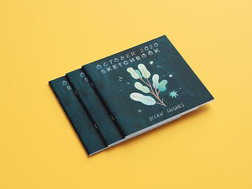 October Sketchbook Zine