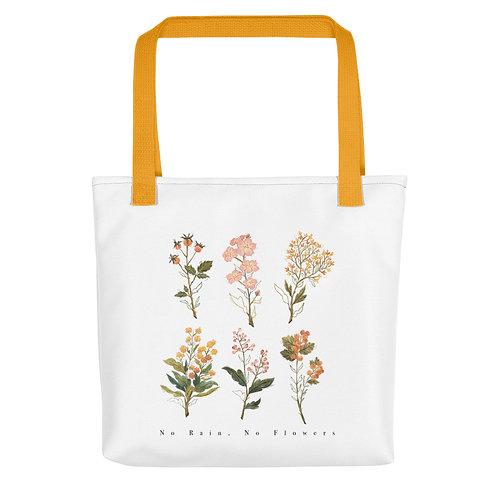 No Rain, No Flowers - Tote bag