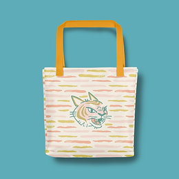 Tiger Stripe Tote bag