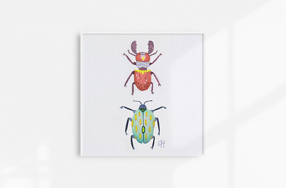 Bugs - Art Print