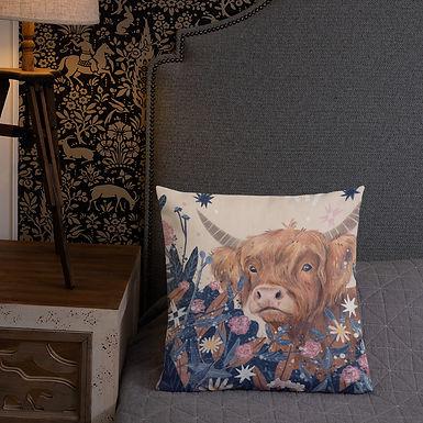 Highland Cow - Pillow