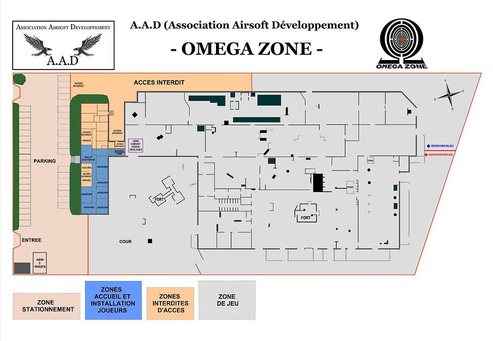 Plan OMEGA ZONE en jpg a jour au 01-03-1