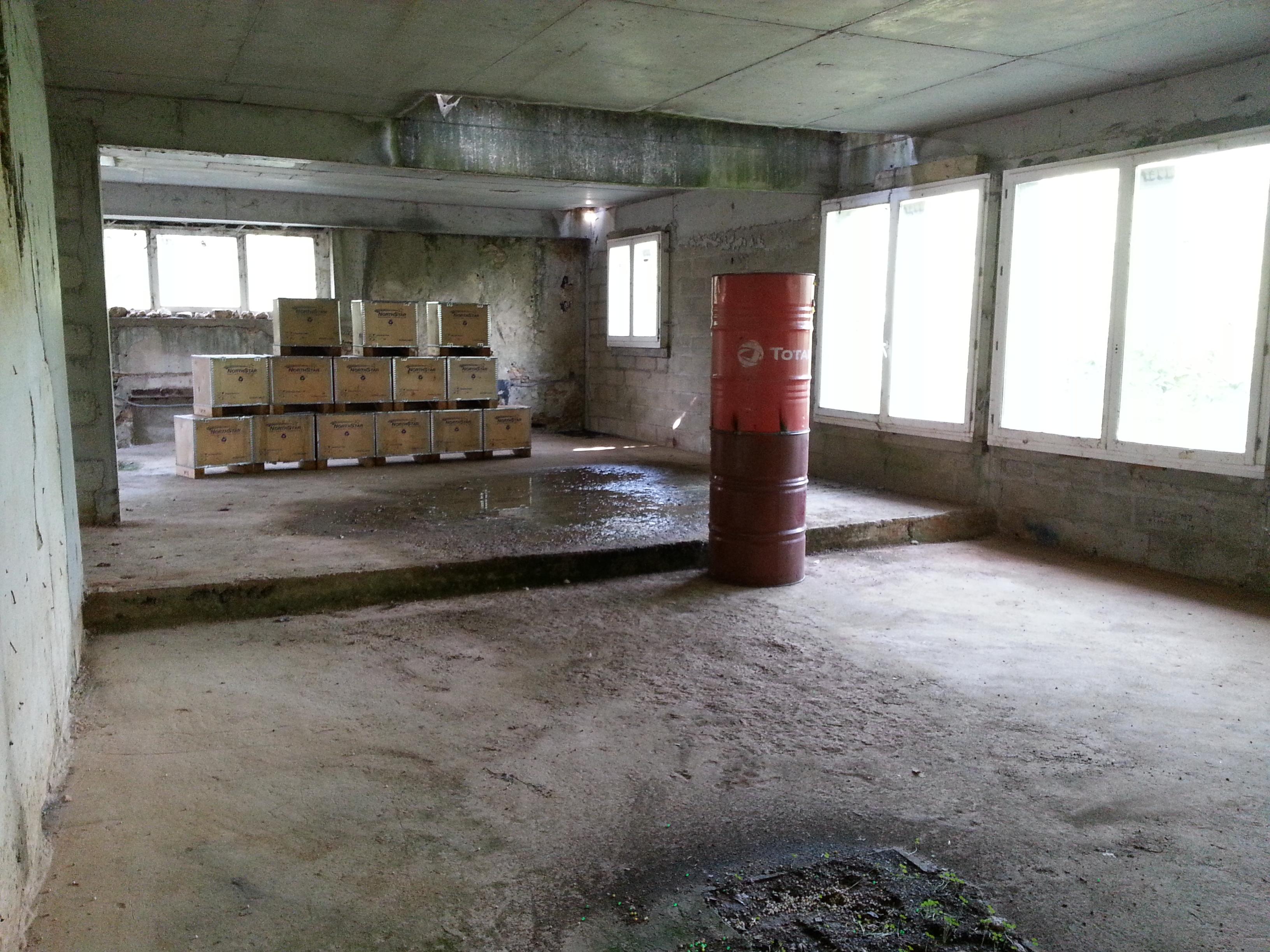Pièce étage