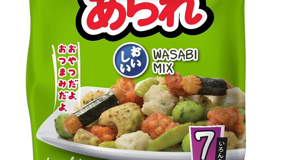 Honto arare mix Wasabi