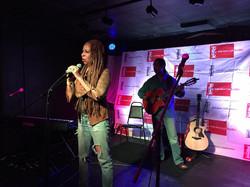 Dorie & Kamau (Indie Collab. performing WINDS OF CHANGE)