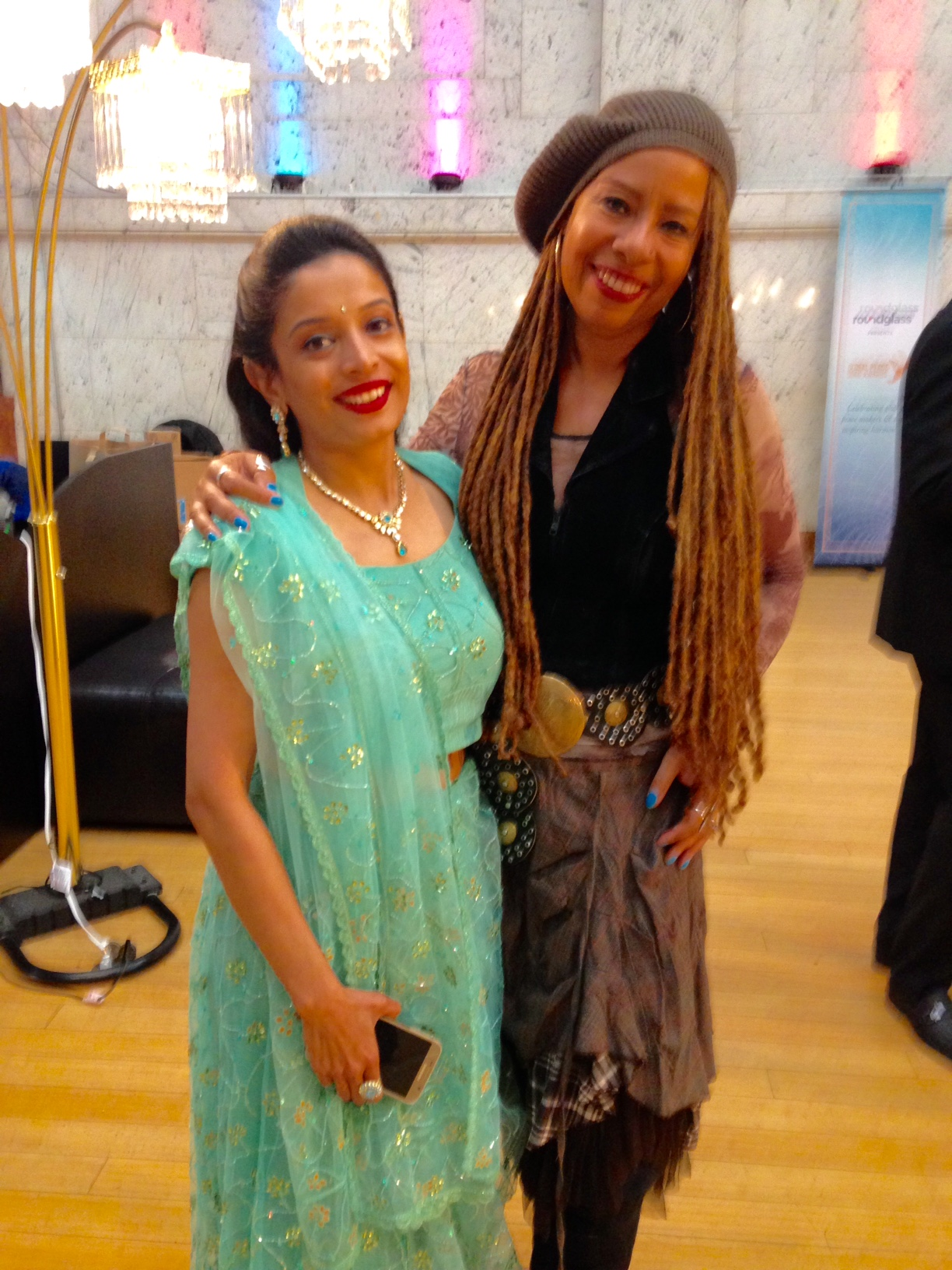 Dorie & Varsha Global Peace Song Awards & Shanti Samsara party