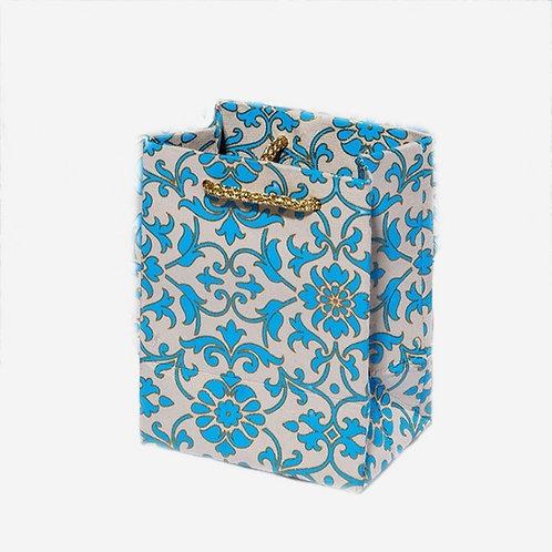 Turquoise Florentine Gift Bag
