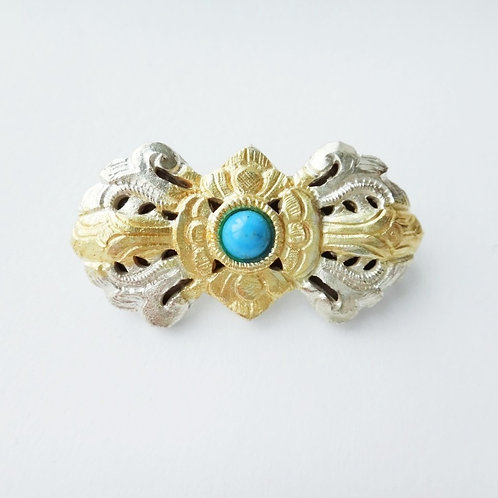 Handcrafted Traditional Bhutanese Brooch - Small