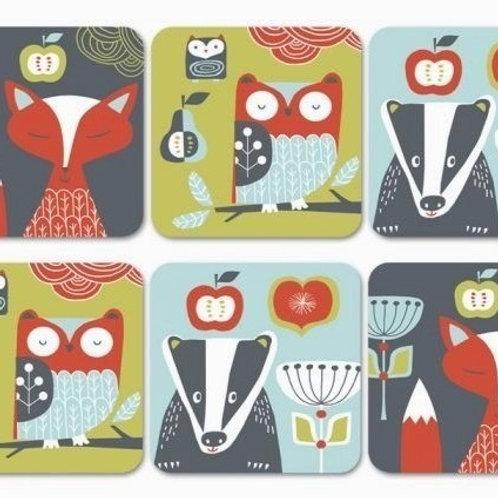 Folkland Coasters (Set of 6)
