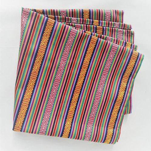 Handwoven Striped Table Runner