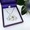 Thumbnail: Handmade Crystal Elephant Necklace