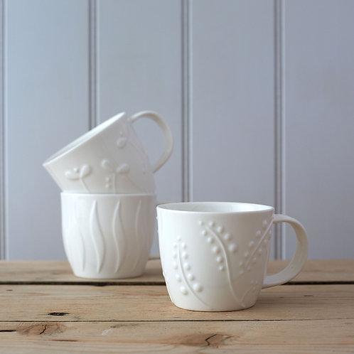 Olive Mugs - Set of 2