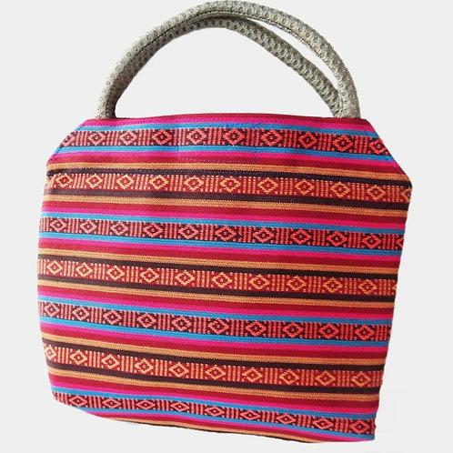 Handwoven Silk & Cotton Bag
