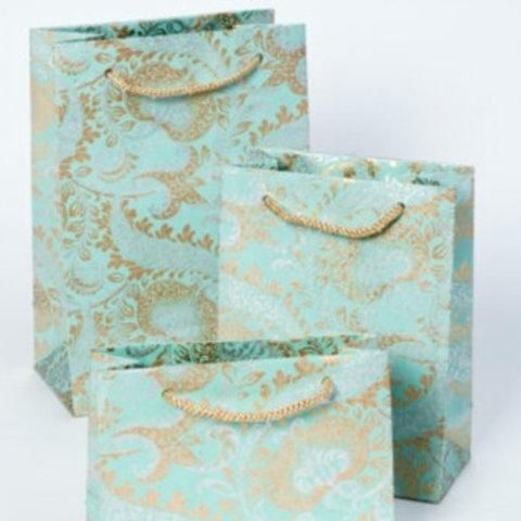 Teal Splendour Gift Bags
