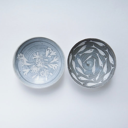 Handmade Small Dipping Bowls - Set of 2