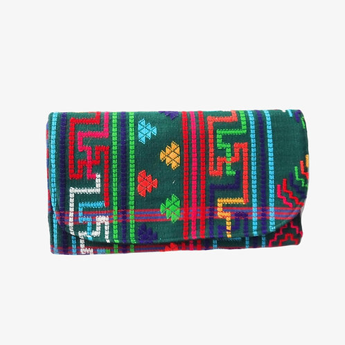 Handloomed Yathra Clutch Bag