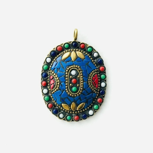 Handcrafted Oval Pendant