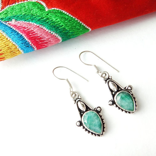 Handcrafted 'Sonam' Drop Earrings