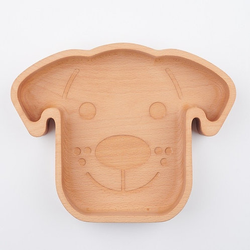 Eco-friendly Wooden Dog Food Bowl