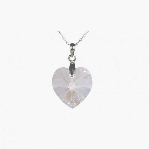 Handmade Heart Necklace - Moonlight