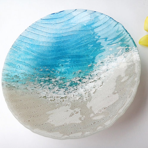 Handmade Paradise Glass Bowl